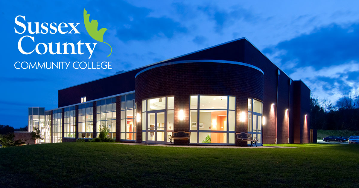 sussex county community college campus map Sussex County Community College Affordable High Quality College
