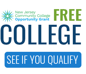 Wording says Free College, see if you qualify with the HESAA star logo