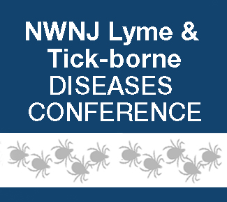 Wording stating NWNJ Lyme & Tick-borne Diseases Conference